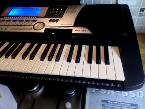for sale yamaha psr 550 psr550 keyboard midi vgc with stand and rh youtube com manual de teclado yamaha psr 550 en español manual del teclado yamaha psr s550