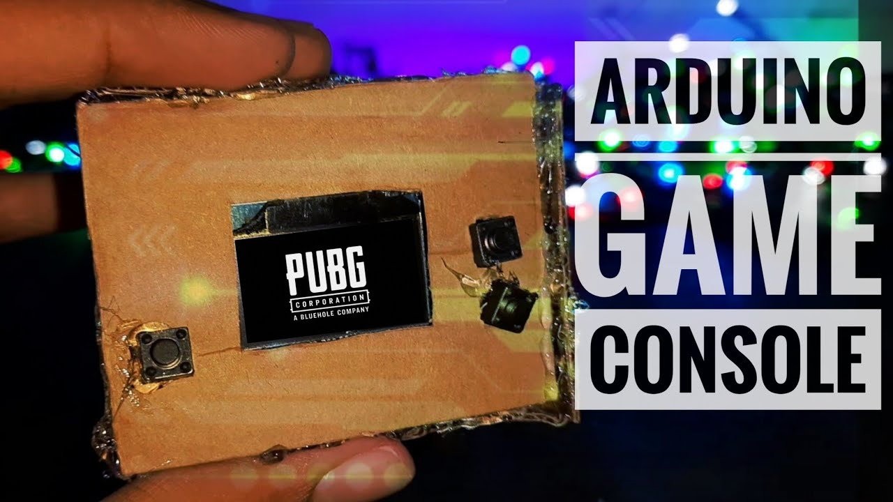 DIY Game Console Using Arduino