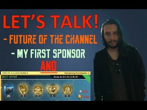 LET'S TALK: Future of the Channel, Opening Create A Class Bundle AND My First Sponsorship