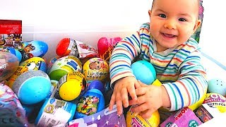 Baby Surprise Eggs: Kinder Surprise, Trolls, LOL Surprise Dolls,Toy Story, Mickey Mouse Toys