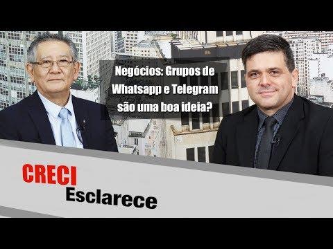 Negócios: Grupos de Whatsapp e Telegram são uma boa ideia? - CRECI Esclarece 293