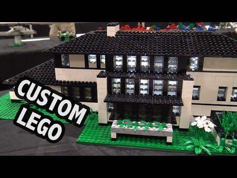 LEGO Frank Lloyd Wright Boynton House, Zimmerman House, Gridley House