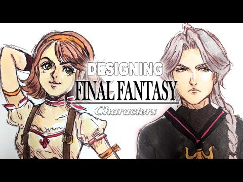 (Random prompt) Let's design a Final Fantasy character!