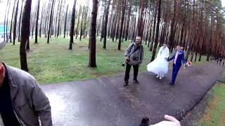 Съёмка свадьбы от первого лица