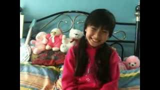 do you want to build a snowman cover by jenica 8 yrs old