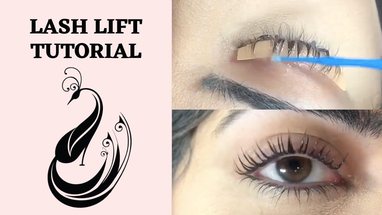 Eyelash Lifting Tutorial | PERMANIA Eyelash Lifting Perming Keratin Kit |  Review + Tutorial