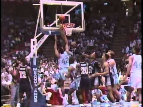 12/07/1989 ACC/Big East Challenge:  #3 Georgetown Hoyas vs.  #17 North Carolina Tar Heels