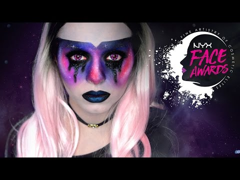 LOST IN SPACE • GALAXY INSPIRED MAKEUP • #NYXFACEAWARDSGERMANY