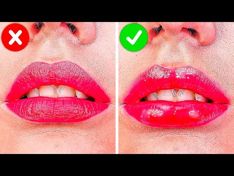 34 MAKEUP HACKS ALL GIRLS SHOULD KNOW thumbnail