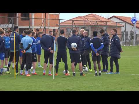 INSIDE TRAINING | Preparing for weekend's clash with Skopje