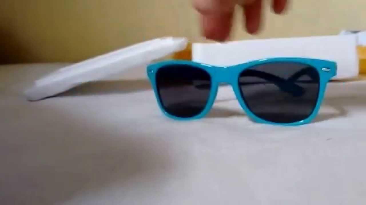 5544b693c Óculos de sol infantil #UNBOXING - YouTube