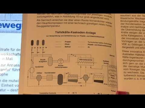 Müllverbrennung - die chronische Vergiftung Teil 11 Das Kryo-Recycling