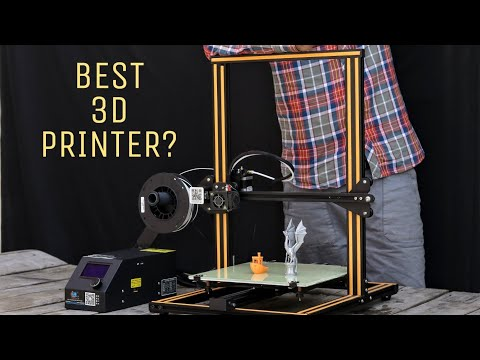 Amazing 3D Printer For DIY Projects - Creality CR10
