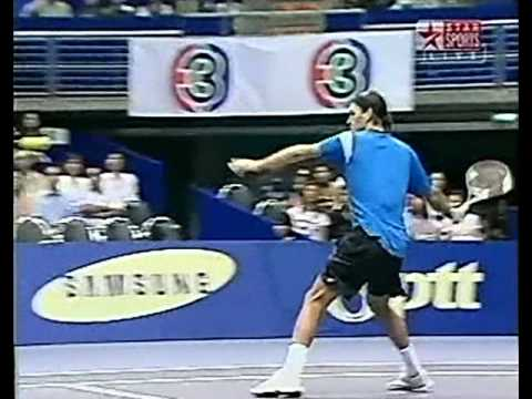 Federer Srichaphan - Bangkok 2004 SF