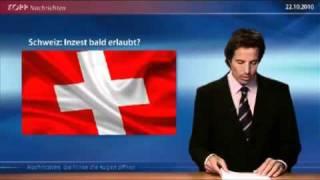 Wenn der Schweizer Vater mit seiner Tochter schläft --- Inzest in der Schweiz bald legal !!