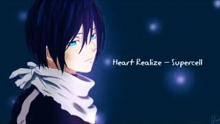 Repeat youtube video Heart Realize ハートリアライズ - Supercell  [Noragami ノラガミ ED 1] ENGLISH SUB LYRICS