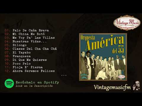 Orquesta América del 55. Colección Perlas Cubanas #114 (Full Album/Album Completo)