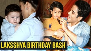 Tusshar kapoor son laksshya birthday bash - kareena kapoor & taimur steal limelight | full party