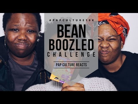 BEAN BOOZLED CHALLENGE | Pap Culture Reacts