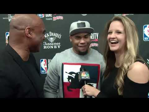 Celebrities hit the red carpet before All-Star celebrity game