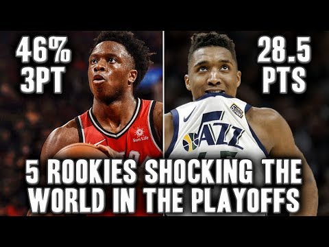 5 NBA Rookies Shocking The World In The 2018 NBA Playoffs