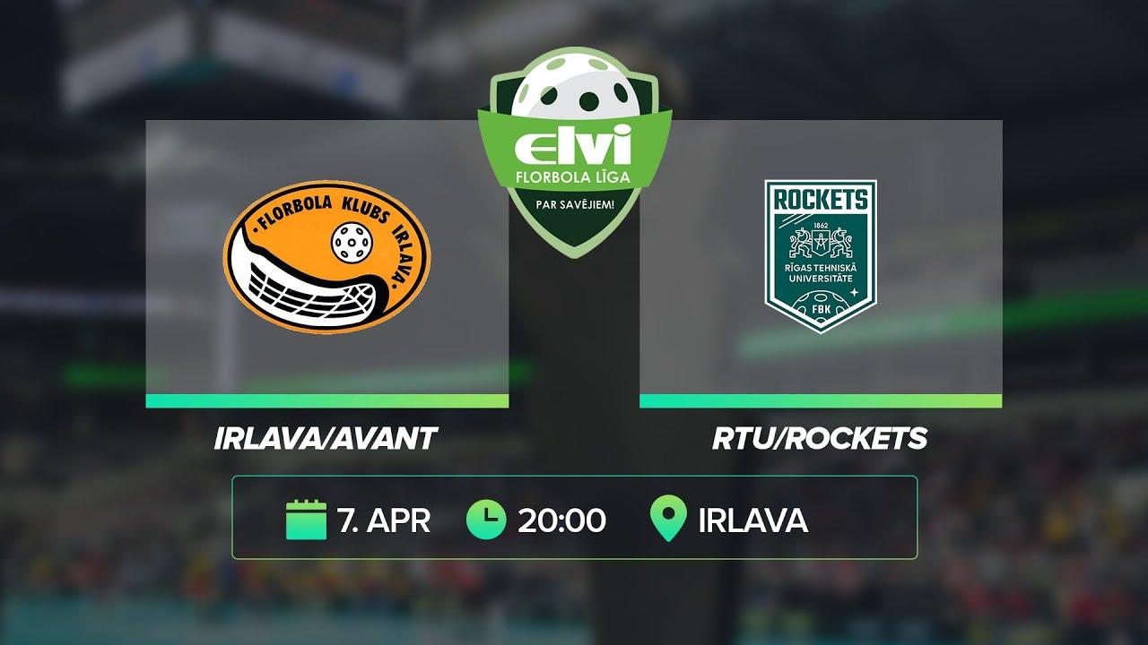 Download 🎥 ELVI florbola līga: Irlava/Avant - RTU/Rockets (7.04.2021)