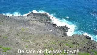 Makapu'u Tidepools. Will you dare to hike it?