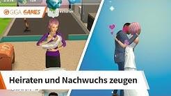 Die Sims Mobile | So heiratest du und bekommst ein Baby