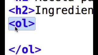 Manejo de listas básicas en HTML