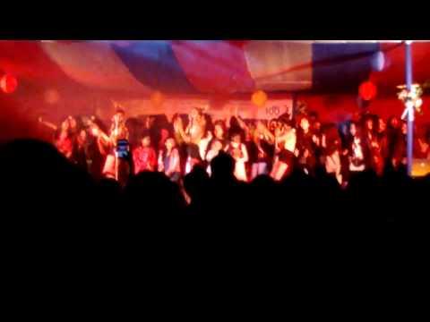 Tetseo Sisters Live performance, St.Agnest School Haflong