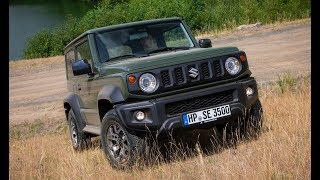 2019 Suzuki Jimny off-roader - The toughest small SUV