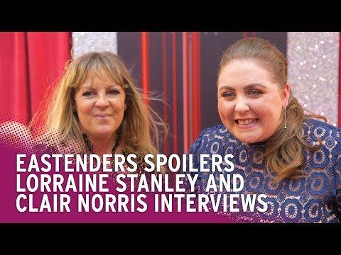 EastEnders Spoilers: Lorraine Stanley and Clair Norris on Knife Crime and Bernie's Love Life