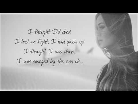 Oasis - Kygo Ft. FOXES (Cover By Jasmine Thompson)(Lyrics)