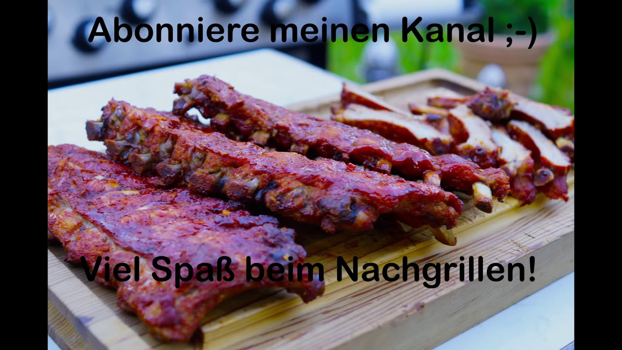Spareribs Gasgrill : Spareribs in 2 stunden auf dem gasgrill youtube