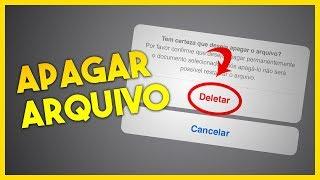 DICA: Como APAGAR ARQUIVO DO PAGES no iPhone