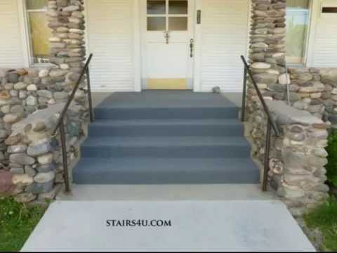 Can You Carpet Exterior Concrete Stairs Indoor Outdoor Carpeting