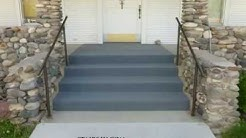 Can You Carpet Exterior Concrete Stairs? - Indoor Outdoor Carpeting
