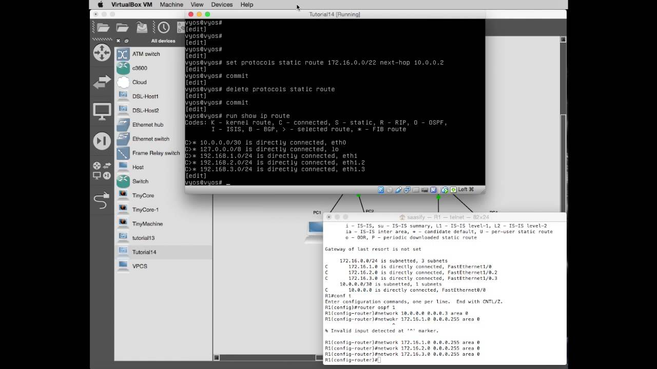 SoftLayer Tutorial Fourteen - Part 6 - Finally static routing and OSPF  routing