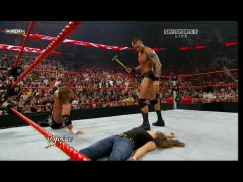 Randy Orton DDT's Stephanie Mcmahon