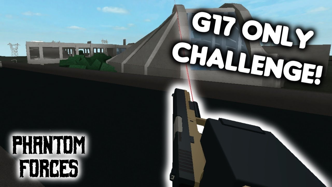 roblox phantom forces - g17 only challenge  -  30 - live commentary