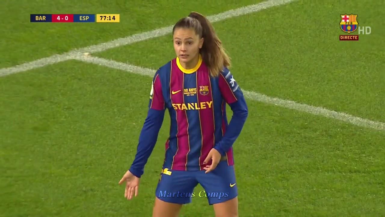 Download Lieke Martens performance at Camp Nou!