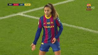 Lieke Martens performance at Camp Nou!