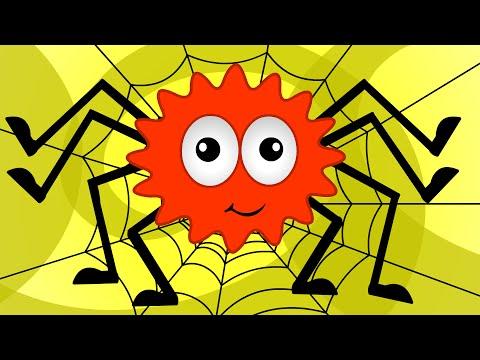 Инси-Винси паучок | потешки | Incy Wincy Spider