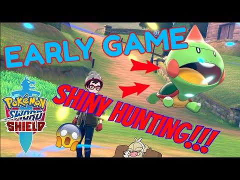HOW TO SHINY HUNT EARLY GAME in Pokemon SWORD and SHIELD!!! - Easy New Shiny Hunting Method!!! |