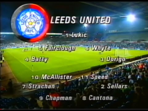 Leeds United 4 Stuttgart 1 Champions League (30Sept1992)
