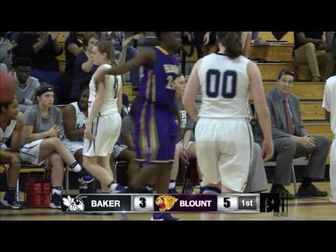 Girls Basketball vs. Blount - 1/31/17 - Senior Night