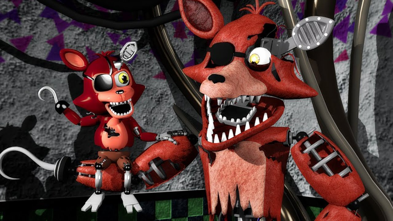 5 Nights At Foxys fnaf sfm- foxy! five nights at freddy's animations compilation