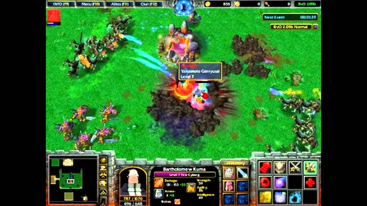 Warcraft 3 MAP
