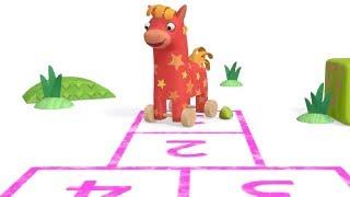 Учим согласные буквы - Песенки для детей - Би - Би - Знайки - учим алфавит - про машинки