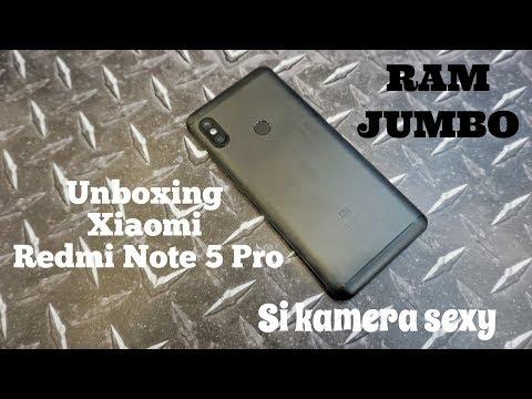 Unboxing Xiaomi Redmi Note 5 Pro Si Kamera Berdiri. Indonesian Language